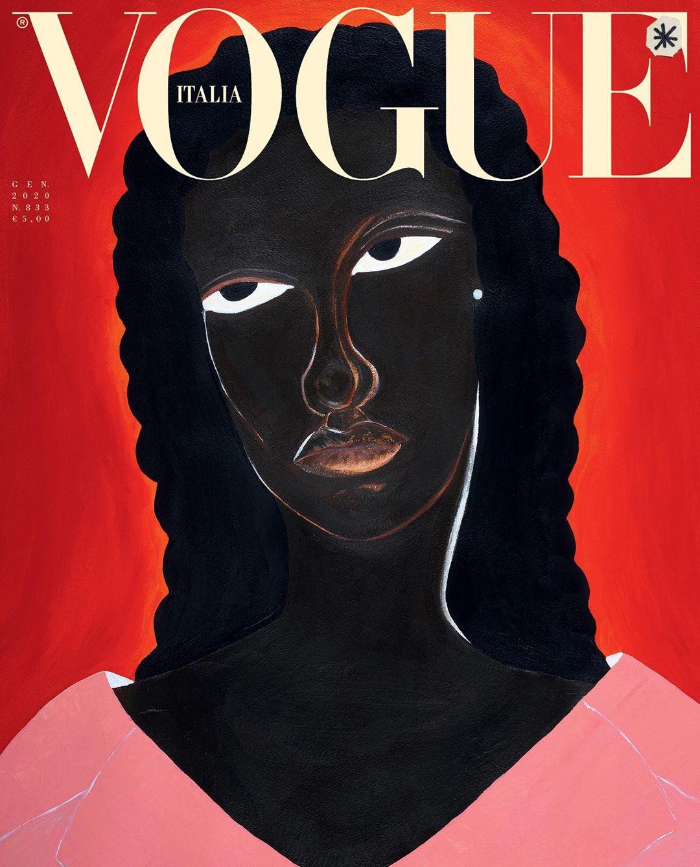 Capa Vogue - Delphine Desane